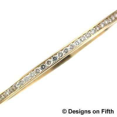 View 14K Yellow  Gold<BR>  Bangle