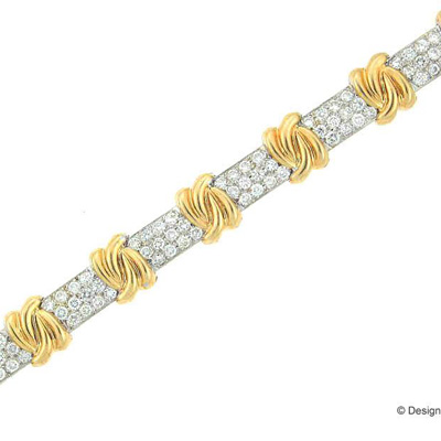 View 14K Yellow  or White  Gold<BR>  Bracelet
